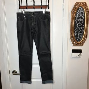 Hurley 'Waxed Look' Jeans size 29